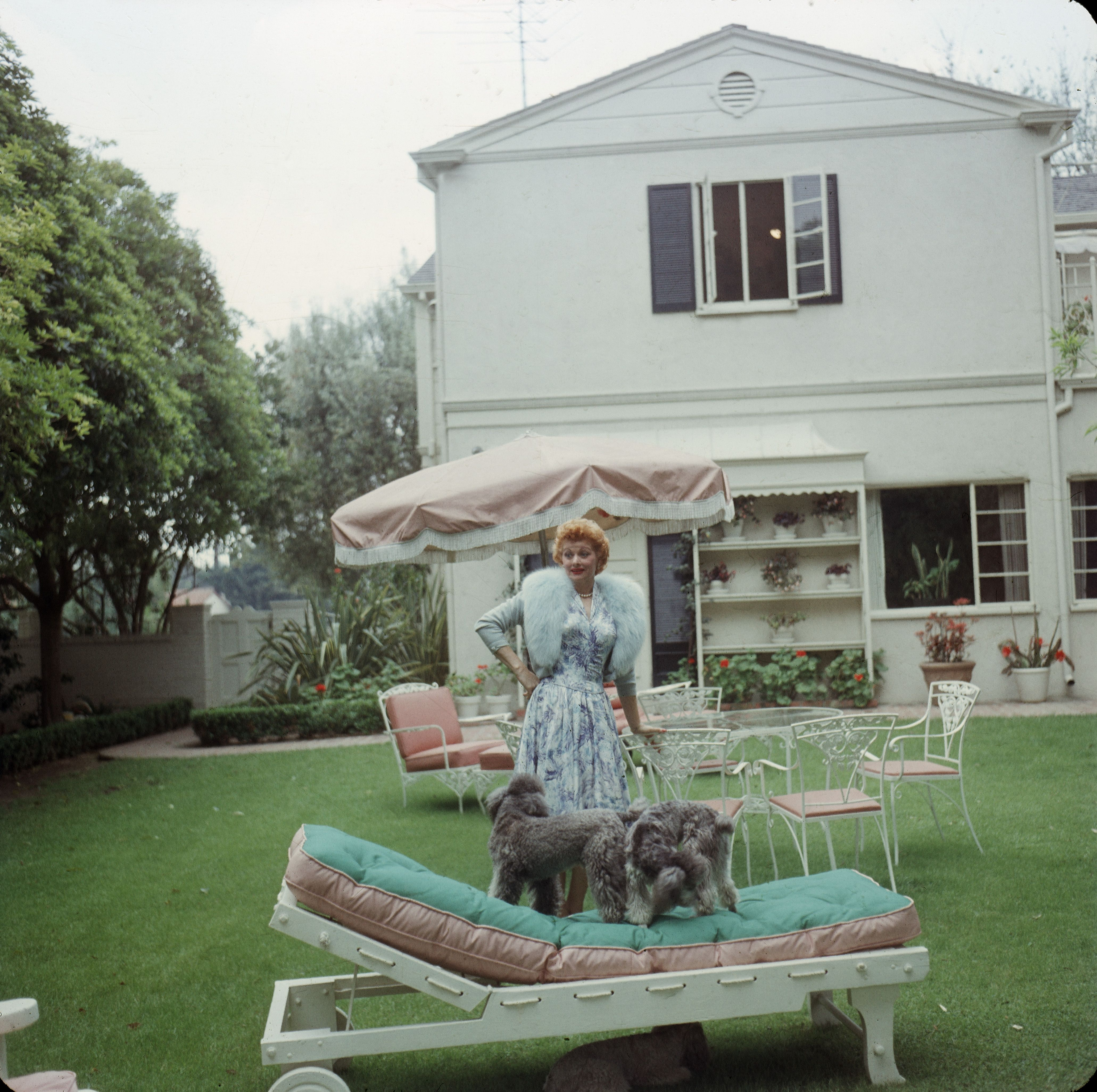 Life At Home With Lucille Ball Vintage Photos Of Lucille Ball