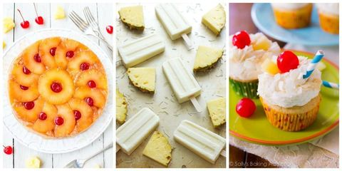 16 Pineapple Desserts That Transport You to the Tropics