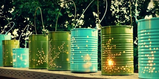8 DIY Lighting Ideas That Will Make Your Yard Twinkle