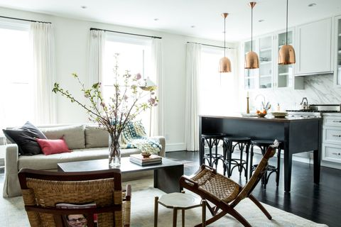 New York City Brownstone Makeover Modern Design In An Old