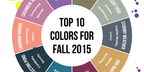 The Top 10 Colors for Fall 2015