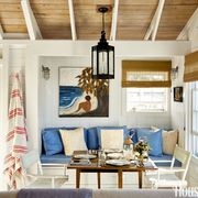 Nautical Blue Couch