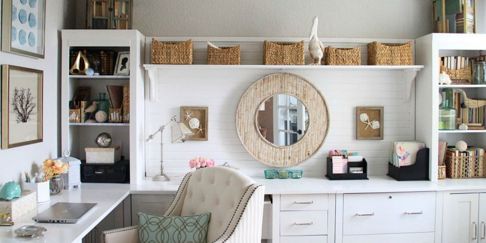 Beautiful Home Decor Ideas Part - 22: 60+ Best Home Office Decorating Ideas - Design Photos Of Home Offices -  House Beautiful