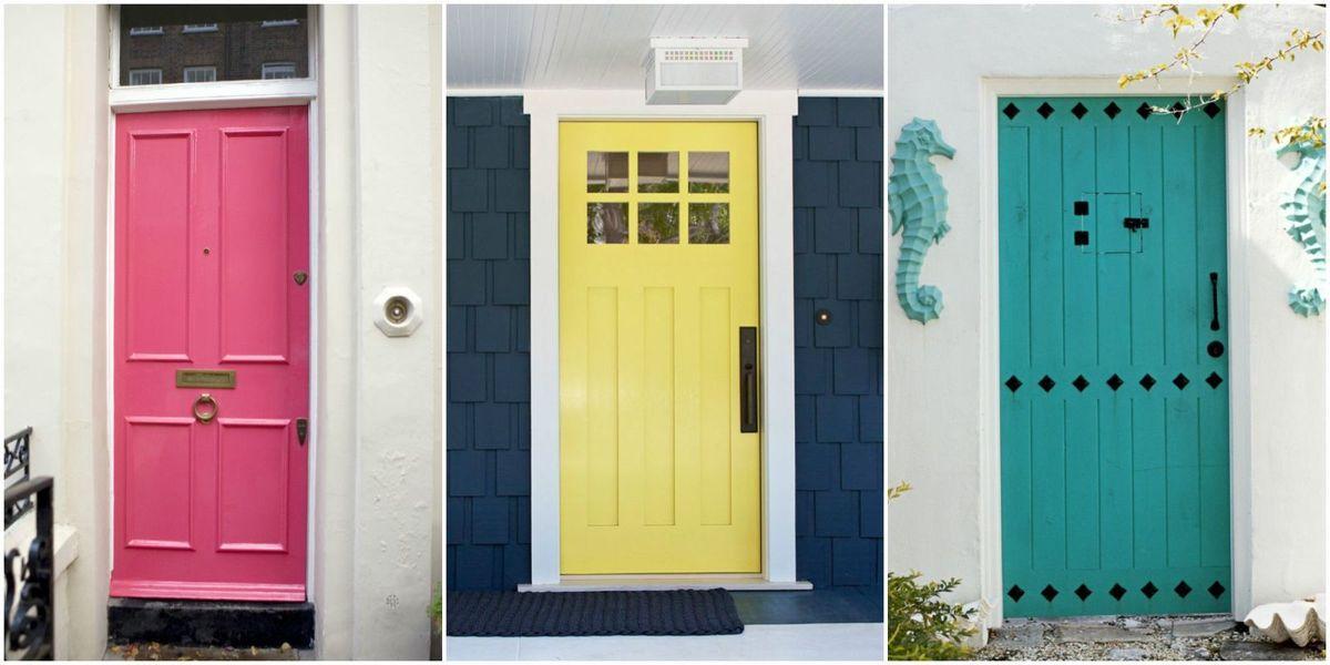 10 front door color meanings what your front door says - Front door color meanings ...
