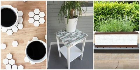 8 Clever Ways to Use Up Leftover Tile