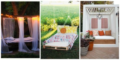 11 Dreamy Outdoor Bedrooms Perfect for Summer Naps