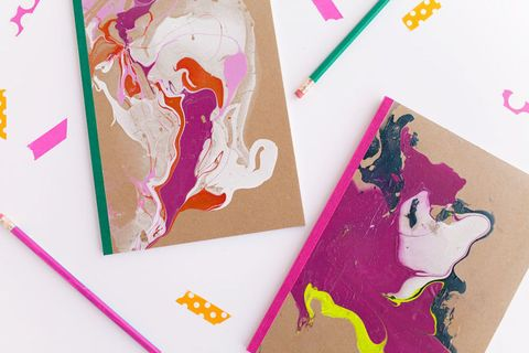 Marbled Notebooks