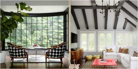 Interior design, Room, Floor, Furniture, Wall, Couch, Glass, Table, Flooring, Ceiling,