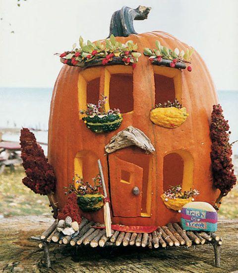 Veggie Pumpkin Home