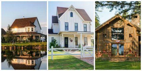30 Gorgeous Farmhouses Across America