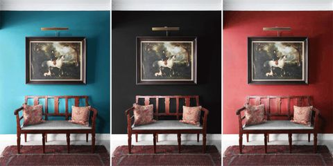 Try This Genius Trick to Help You Pick a Paint Color