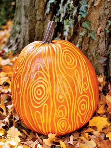 Carved Swirls