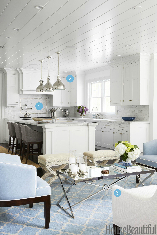 4 Designer Secrets That Make Open Kitchens Feel Cozy