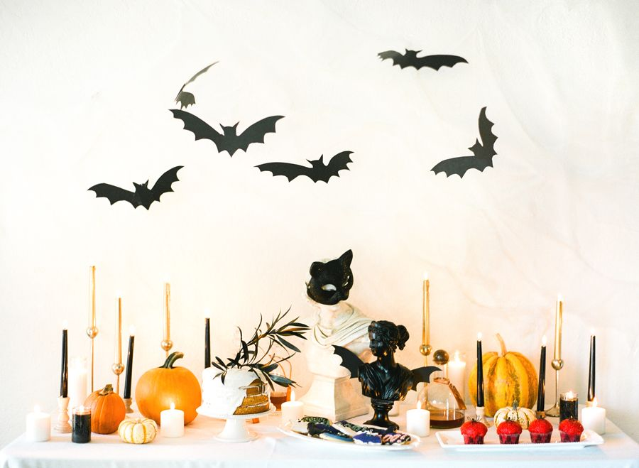 image  sc 1 st  House Beautiful & 20+ DIY Halloween Decorations - Cool Homemade Halloween Decor Ideas