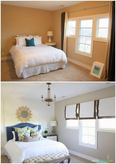 Bed, Blue, Room, Interior design, Green, Wood, Bedding, Yellow, Wall, Bedroom,