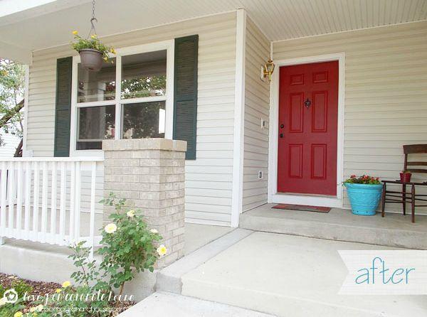 house front door8 Front Door Makeover Ideas  How to Makeover Your Home Front Door