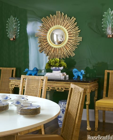 SF Home Dining Room with Mirror