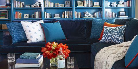 SF Home Blue Family Room
