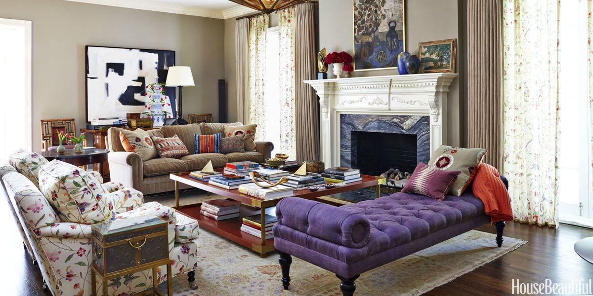Design tips from nathan turner how to decorate with color - How can i decorate my small living room ...