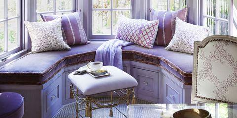 LLH Purple Window Seats