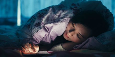 Skin, Comfort, Black hair, Nap, Sleep, Cool, Teal, Bedtime, Turquoise, Aqua,