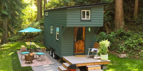 Wood, Plant, Property, House, Garden, Real estate, Door, Home, Backyard, Outdoor furniture,