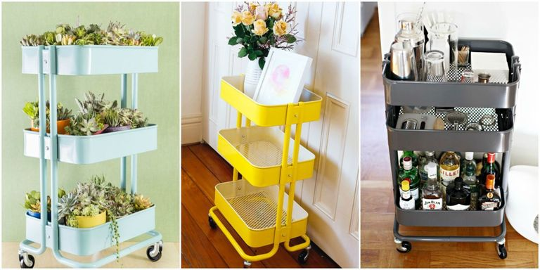 Ikea Raskog Cart Ideas Raskog Ikea Hacks
