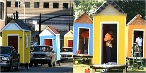 These Tiny Homes Are Changing the Lives of Tennessee's Homeless