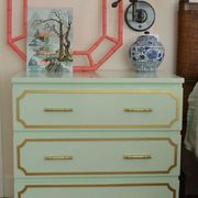 Wood, Blue, Chest of drawers, Green, Drawer, Room, White, Furniture, Cabinetry, Dresser,