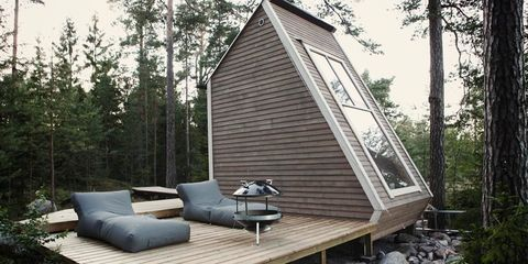This Tiny Finnish Cabin Appeared as if by Magic