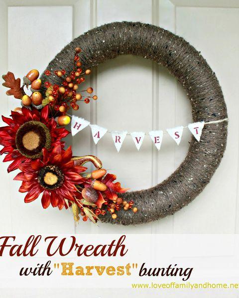 30 Best Diy Fall Wreaths Prettiest Autumn Door Wreaths For Sale