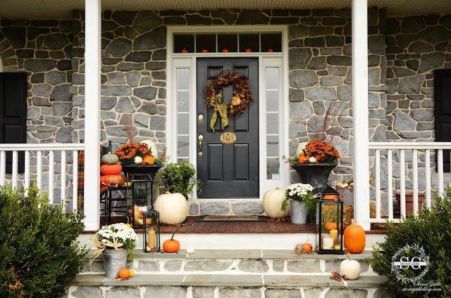 33 Fall Porch Decor Ideas Best Autumn Front Porch Decorations