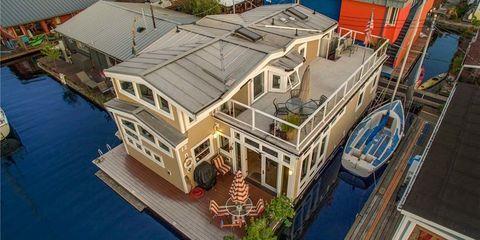 Seattle house boat