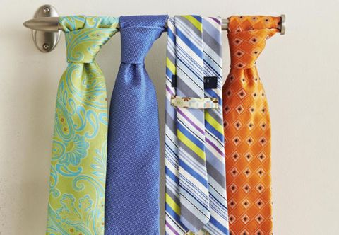 """<p>Wrinkles, begone! Or if your hubby still isn't an expert at tying his own tie (no judgements) keep them pre-looped for him on this handy holder.</p><p><em><a href=""""http://www.lowes.com/creative-ideas/organize-store-and-move/household-organizing-solutions/article"""" target=""""_blank"""">See more at Lowe's »</a></em><a href=""""http://www.lowes.com/creative-ideas/organize-store-and-move/household-organizing-solutions/article"""" target=""""_blank""""></a></p>"""