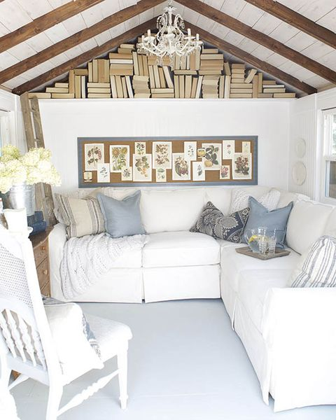White and Wood Details