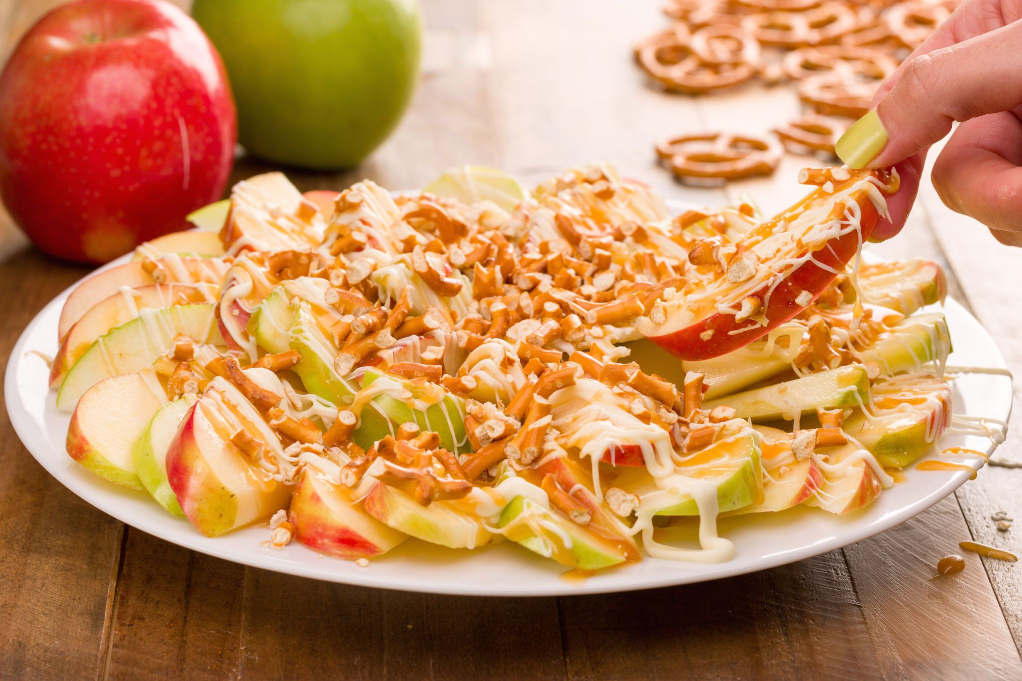 Get Hooked on Apple Nachos This Fall
