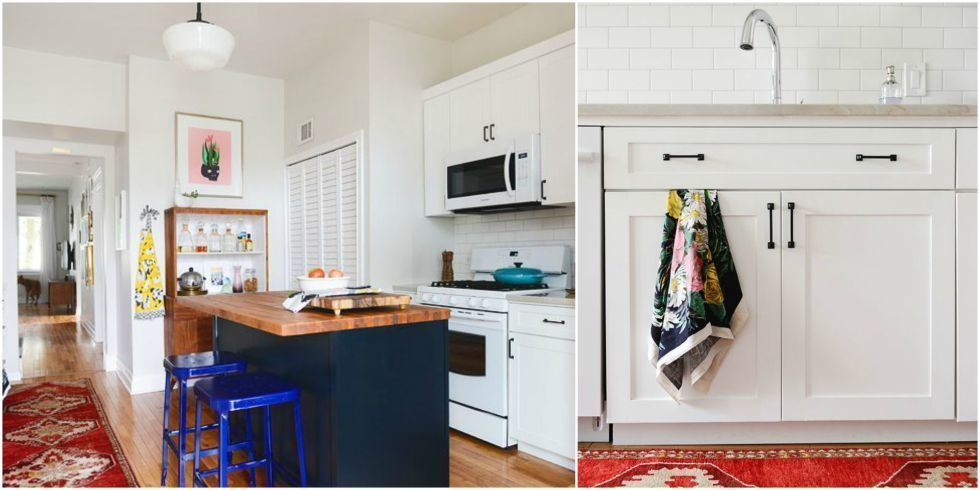 7 Storage Lessons to Steal From This Cheery Kitchen Makeover
