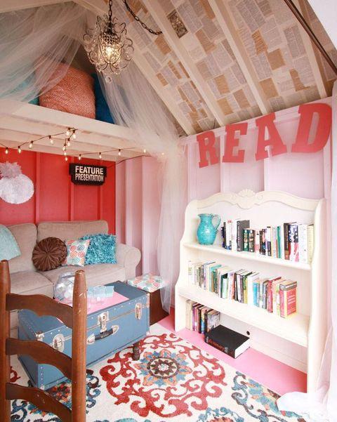 A Bright Reading Nook