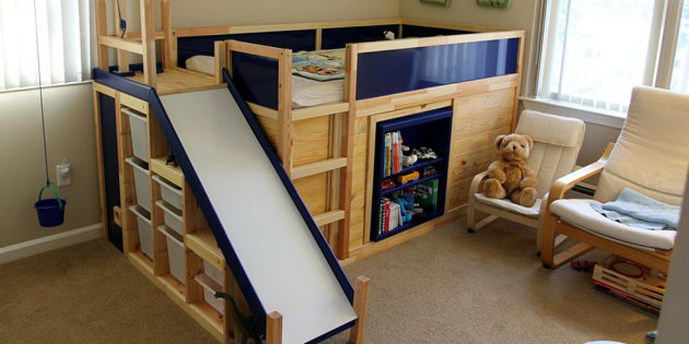 The Ultimate Ikea Kid S Bed Is Real Dad Builds Awesome