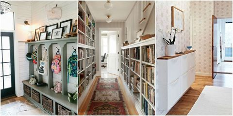 Hallway Storage Ideas Better Uses For Hallways