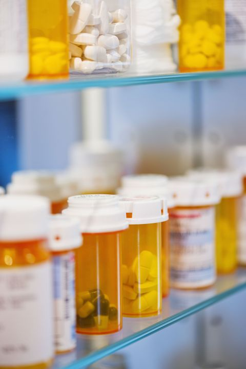 "<p>We know, we know: It's called a ""medicine"" cabinet. But really, your prescription should stay far away from moisture and at room temperature (between 68 and 77 degrees). The drugs could <a href=""http://abcnews.go.com/Health/HealthyLife/medicine-cabinet-worse-place-store-medications-pharmacists/story?id=14316623"" target=""_blank"">lose their effectiveness</a> if not stored in a cool and dry place.</p>"