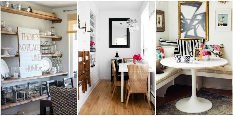 image & Small Dining Room Ideas - Design Tricks for Making the Most of a ...