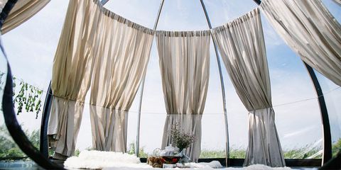 dome glamping tent