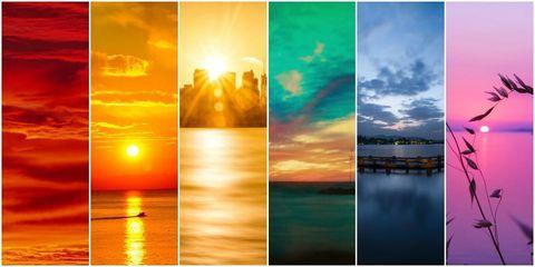 Rainbow Sunsets