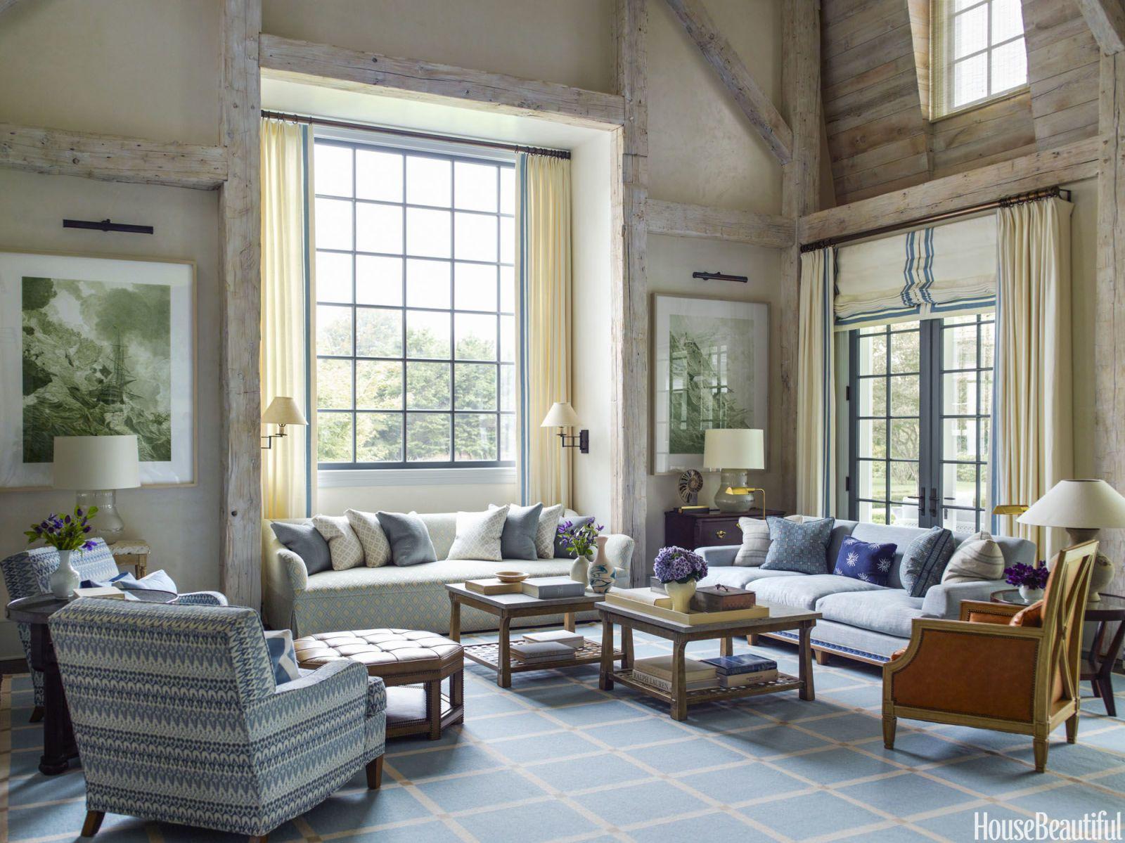 Textiles ligeros para una casa fresca