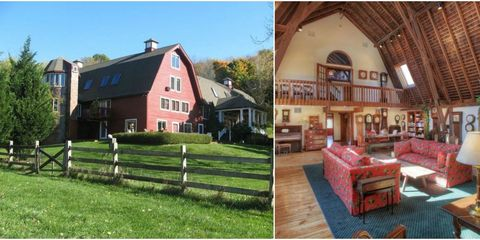 red barn home