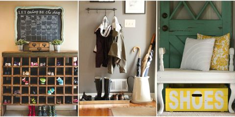 9 Smart Ways to Wrangle Your Entryway's Shoe Clutter