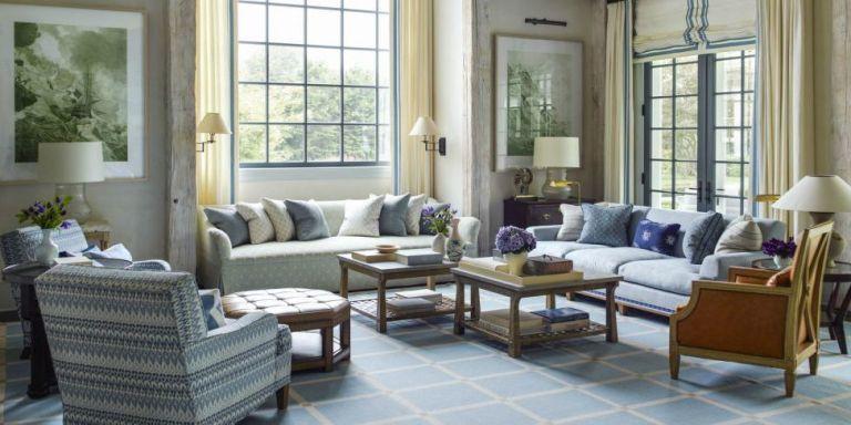 stunning east hampton living room design | European Style Hamptons Home - Steven Gambrel Hamptons ...