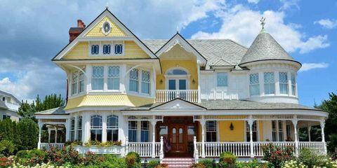 Plant, Property, House, Real estate, Home, Door, Porch, Building, Facade, Residential area,