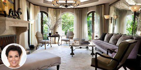 Kris Jenner Mansion Los Angeles California Celebrity Home